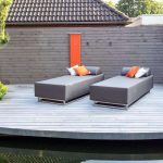 Carefree Outdoor 2 seater lounger for casual enjoyment